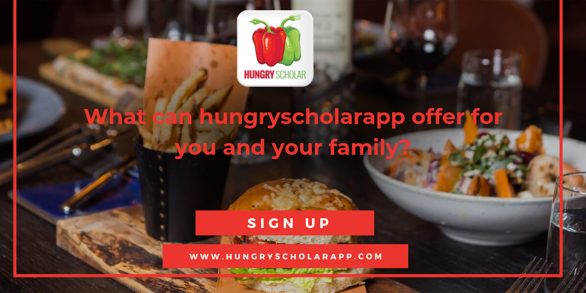 hungryscholarapp offer for you and your family