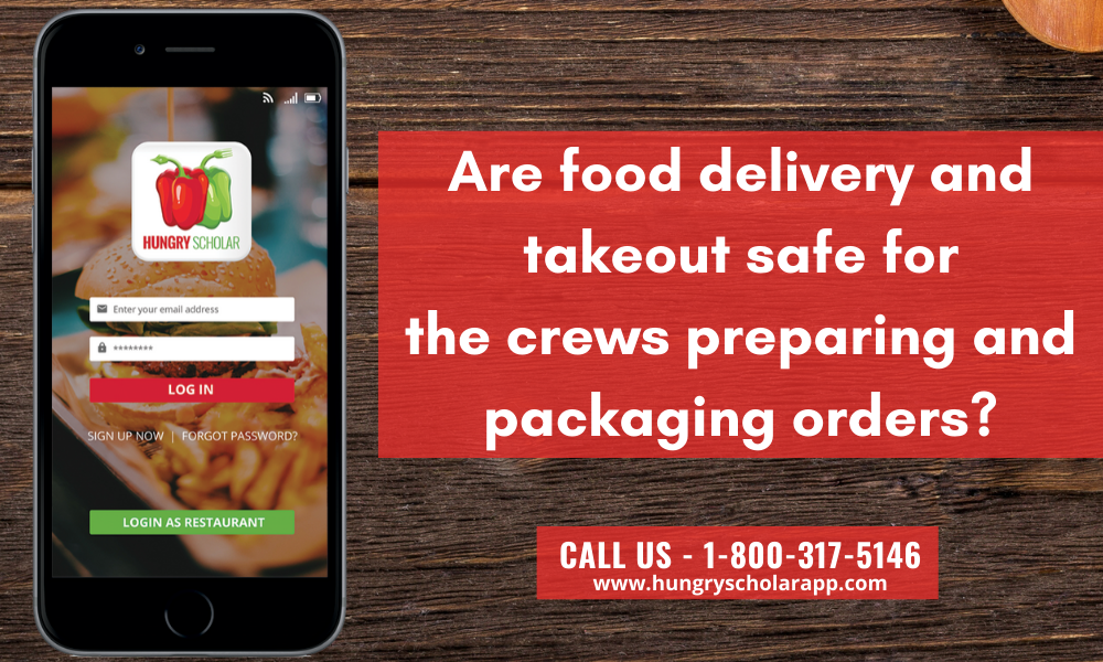 food delivery and takeout safe