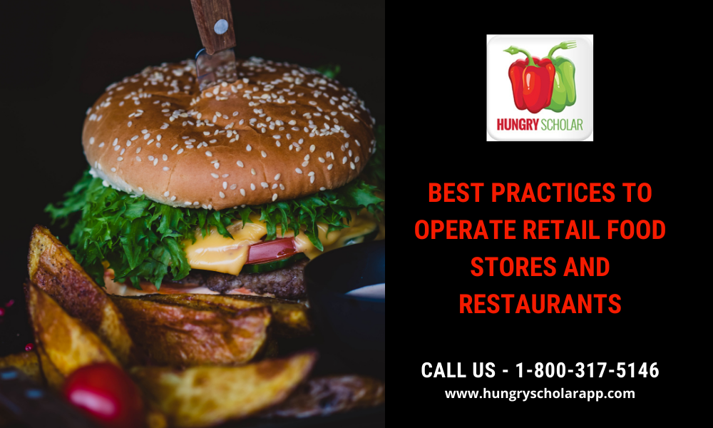 food stores and restaurants