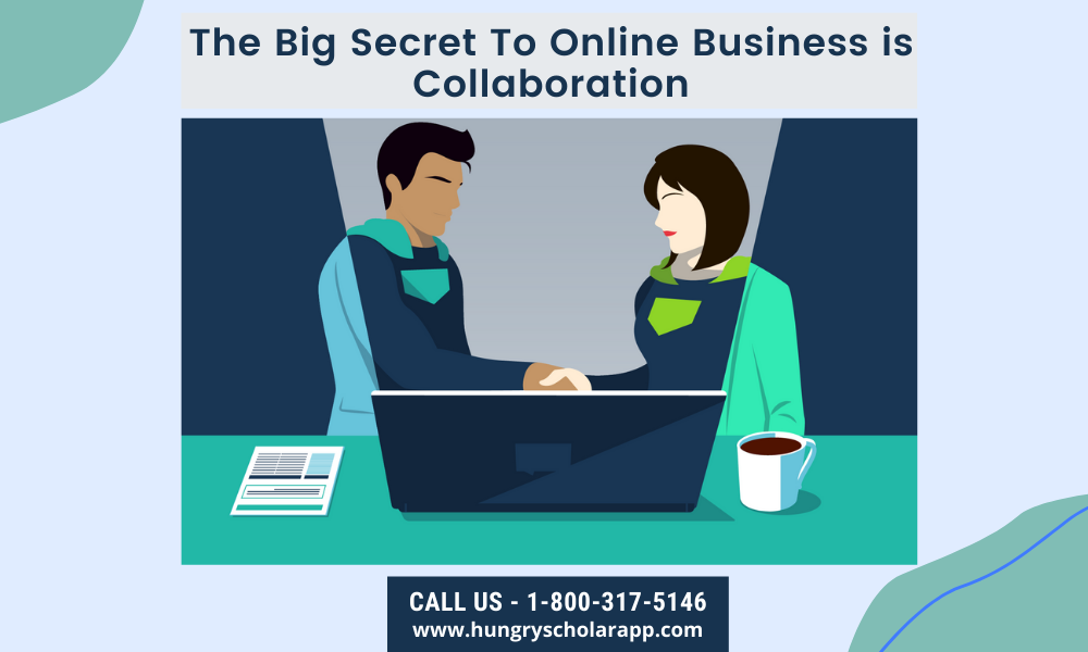 online business is collaboration